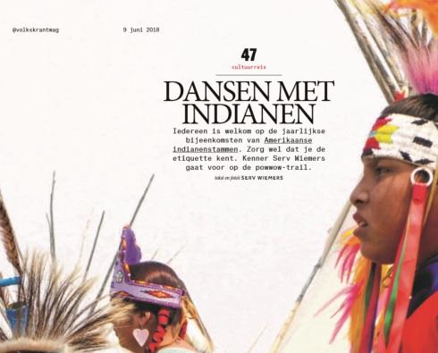 Kop artikel Volkskrant Magazine